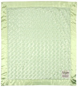 """My Blankee Luxe Snail Baby Blanket, 14"""" x 17"""", Sage Green"""