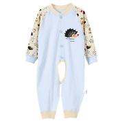 Nine States Baby Sleep Sack Long Sleeves Wearable Blanket Bodysuit Footie,Blue