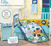 "Diego Complete Crib Bedding Set - 10Piece 28"" x 51"""