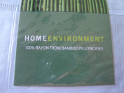 Home Environment 100% Rayon Standard Bamboo Pillowcases - Sky