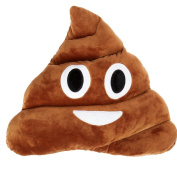 Poop Face, Smiley Emoticon Cushion Pillow Stuffed Plush Toy Doll