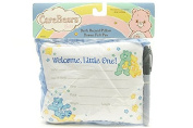 Welcome little one brith record pillow - bonus felt pen