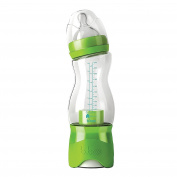 B Box Lime Twist Green Travel Bottle with Removable Dispenser