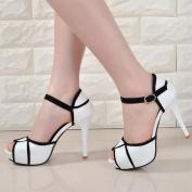 2016 Peep Toe Summer Sandals Ankle Strap Women's Sandals Platform