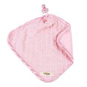 My Blankee Minky Dot Binky, Pink