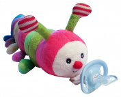 Anamazees, The First 5-in-1 Pacifier, Carrie the Caterpillar, 13 Inches/Multi-Colour,