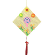 Set of 2 Lollipop Pattern Bamboo Curtain Hanging D¨¦cor Products for Nursery