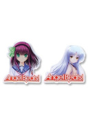 Angel Beats Yuri & Angel Metal Pinset