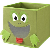 SystemBuild Fabric Frog Storage Bin This Fabric Bin Makes Cleaning Up Fun
