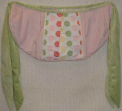 Brandee Danielle Cotton Candy Polka Dots Toy Bag