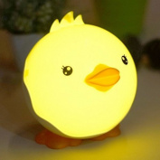 XDOBO USB Touch Sensor Dimmable Duck LED Night Lamp Rechargeable Carton Lamp