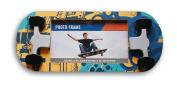Boys' Bedroom Decor Skateboard Shaped Hanging Photo Frame - 27cm x 11cm