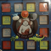 "Cuddle Bear Collection ""My First Year"" Photo Frame 10X10"