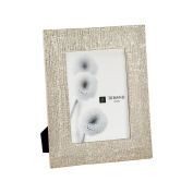 DIMOND HOME 8988-013 Large Ripple Texture Photo Frame, Silver Plate