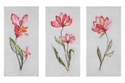 Springtime Promise Floral Art, S/3