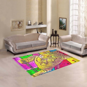 JC-Dress Area Rug Mietze Dora Popart by Nico Bielow Modern Carpet 2.1mx1.5m