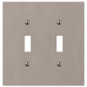 Elan 2 Toggle Wall Plate - Nickel