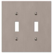 Elan 2 Toggle Wall Plate - Nickel