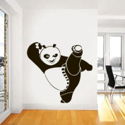Wall Decal Vinyl Sticker Nursery Gift Kung Fu Panda heroes animals a146