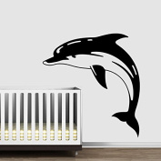 Wall Decal Vinyl Sticker dolphin nature animals nursery holl bedroom a138