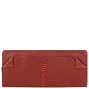 Hidesign Stitch Deluxe Women's Leather Wallet, Brown
