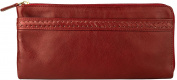 Hidesign Mina Deluxe Leather Wallet Clutch, Tan
