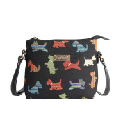 Signare Womens Tapestry Across Body Bag Scottie Dog