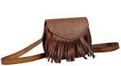 IndianHandoArt 23cm Inch Leather Bag Crossbody Bags for women Gypsy Bag Shoulder Bag Travel Tote bag