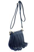 Small Fringe Crossbody Bag with Wrist Strap