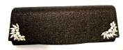Kate Landry February Black Clutch