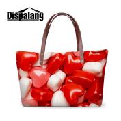 Generic Food Candy 3D Print Series Large Shoulder HandBags for Ladies Girls Casual Tote Bags Beach Bags