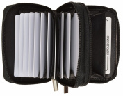 Leatherboss Accordian Security Wallet RFID Blocking ID Credit Card Fraud Protection