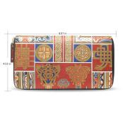 Womens Ancient retro art Pattern Long Wallet & Purse Case Card Holder G96