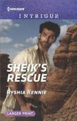 Sheik's Rescue  [Large Print]