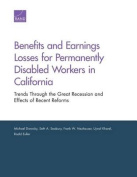 Benefits and Earnings Losses for Permanently Disabled Workers in California