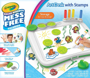 Crayola Colour Wonder Mess Free Art Desk with Stamps Toy