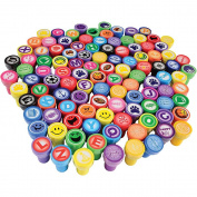 U.S. Toy Stamper Assortment for Arts & Crafts and Scrapbooking Fun / 104-pcs