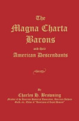 The Magna Charta Barons and Their American Descendants