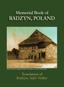 Radzyn Memorial Book (Poland)