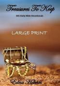 Treasures to Keep - Large Print