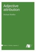 Adjective Attribution