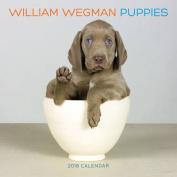 William Wegman Puppies 2018 Wall Calendar