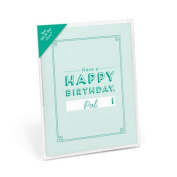 Happy Birthday Fill in the Love Card Booklet