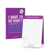 I Have to Do What?! Inner-Truth Pad