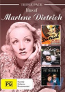 Marlene Dietrich Triple Pack [Region 4]