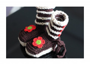 Baby Shose,Handmade Crochet Knit ,Baby boots. (11cm