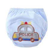 Meijunter Cute Baby Infant Cartoon Cloth Nappies Reusable Washable Leakproof Nappy Nappy Car 90