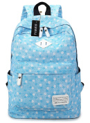 Tibes fashion printed backpack for boys and girls
