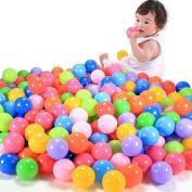 Covermason Baby Kid Toy 100pcs Colourful Ball Fun Ball Soft Plastic Ocean Ball Swim Pit Toy
