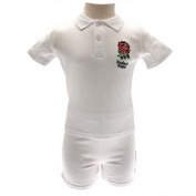 Official England RFU Baby Shirt And Short Set